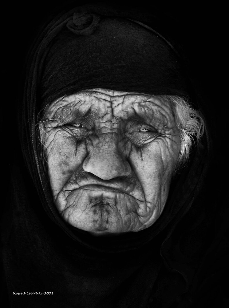 *THE OLD WOMAN'S SONG*  Photo by *Russel Lee Klika* (#3 in my Abuse Series.) by Dayonda