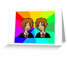 Harry Potter | Weasley Twins Greeting Card