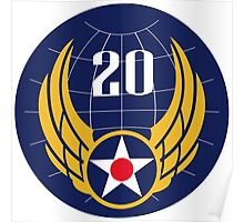 20th Air Force  WWII  USAAF Poster