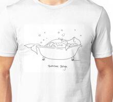 Bathtime Beluga Unisex T-Shirt