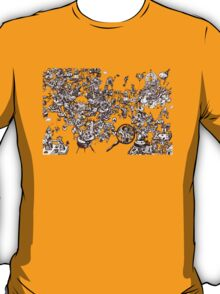 inky_sky_maze_t1 T-Shirt