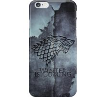 Blue Wolf iPhone Case/Skin