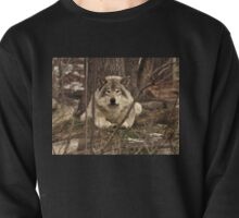 Hiding in plain sight - Timber Wolf Pullover