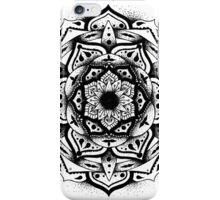 Dotwork Mandala White iPhone Case/Skin