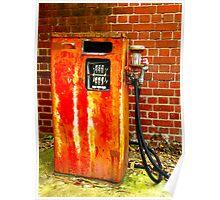Petrol Pump Poster