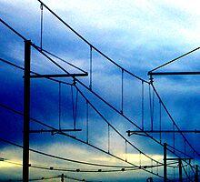 Lines over Tottenham by Elaine Stevenson