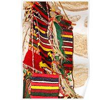 Traditional Bulgarian Knitting Poster