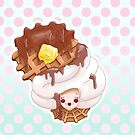 Doll faced dearies, Winifred waffle and cream by Bantambb