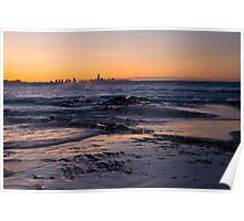 Currumbin Sunset Poster