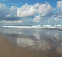 Sky in the sand by Timana