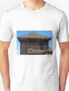 Traditional Wooden House in Nessebar, Bulgaria Unisex T-Shirt