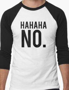 Hahaha No. Men's Baseball ¾ T-Shirt