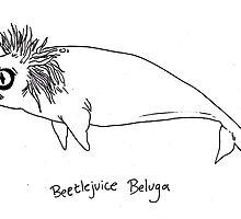 Beetlejuice Beluga by kellymaryanski