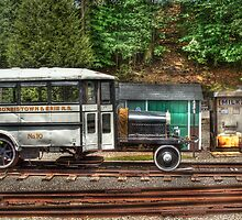 The Rail Bus by Mike  Savad
