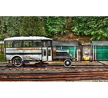 The Rail Bus Photographic Print