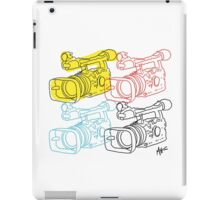 Primary Camera Grid iPad Case/Skin