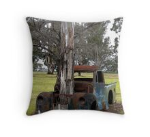 The Ultimate Green Vehicle Throw Pillow