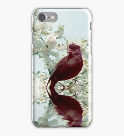Spring call iPhone Case/Skin