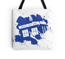 Splash tardis Tote Bag