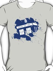 Splash tardis T-Shirt