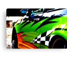 Modified sports car  (2008) Canvas Print