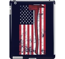 American Fire Service (blue) iPad Case/Skin