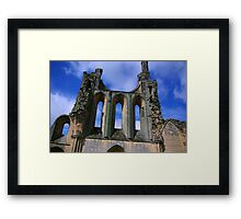 Empty Windows - Byland Abbey Framed Print