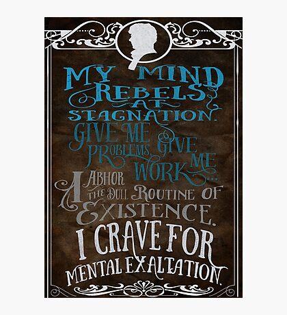 My Mind Rebels V2 Photographic Print