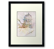 Song for Freedom Framed Print