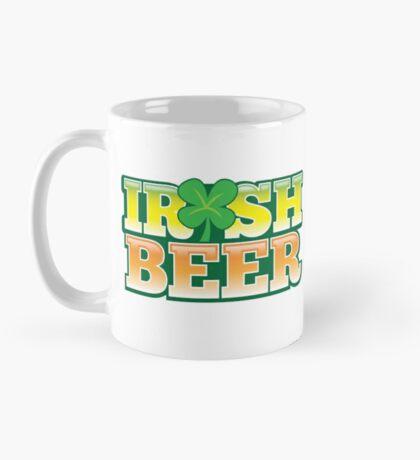 IRISH BEER in green Mug
