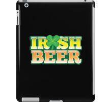 IRISH BEER in green iPad Case/Skin