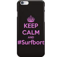 Surfbort. iPhone Case/Skin
