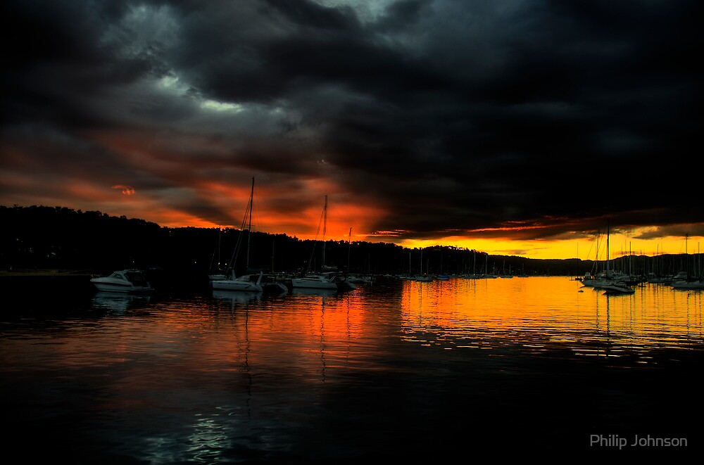 Darkness Falls  - Newport - The HDR Series by Philip Johnson