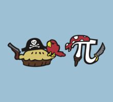 Pie and Pi Pirates T-Shirt