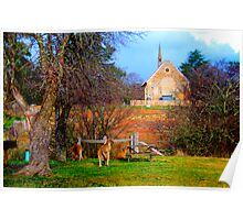 Church Service - Hill End - The HDR Series Poster