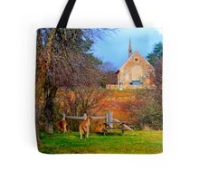 Church Service - Hill End - The HDR Series Tote Bag