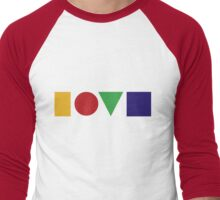 Love Men's Baseball ¾ T-Shirt