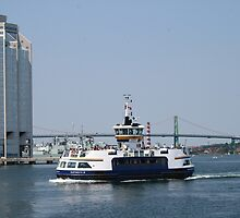 Halifax Harbour Ferry by HALIFAXPHOTO