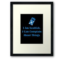 Scottish Framed Print