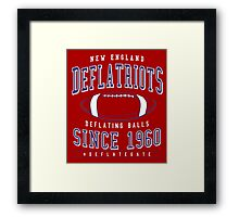 Deflate Gate - The New England Deflatriots Framed Print