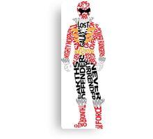 Super Megaforce Red Canvas Print