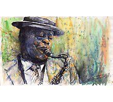 Jazz Saxophonist 1 Photographic Print