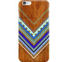 Aztec Arbutus Blue iPhone Case/Skin