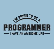 i am proud to be a programmer Kids Clothes