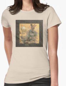 'Winged Nymph at Sunrise' by Alexandre de Riquer (Reproduction) T-Shirt