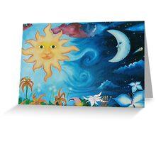 Celestial Sky Greeting Card