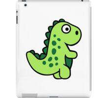 Comic dinosaur iPad Case/Skin