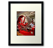 Dependence red-inay-carpenter .. Framed Print