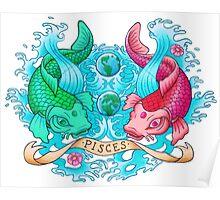 Koi Pisces Poster