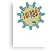 Techno since 1988 Canvas Print